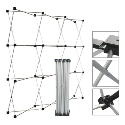 Aluminum Straight Backdrop Booth Frame Trade Show Display Stand 2.3* 2.3m
