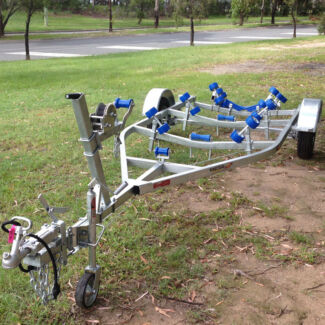 Swiftco Trailers Townsville 5 Metre Boat Trailer - Wobble Rollers Garbutt Townsville City Preview