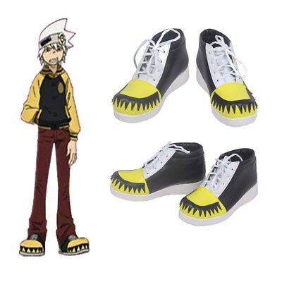 Anime Soul Eater Soul Evans Soul Cosplay  Shoes Halloween Accessories Any Size