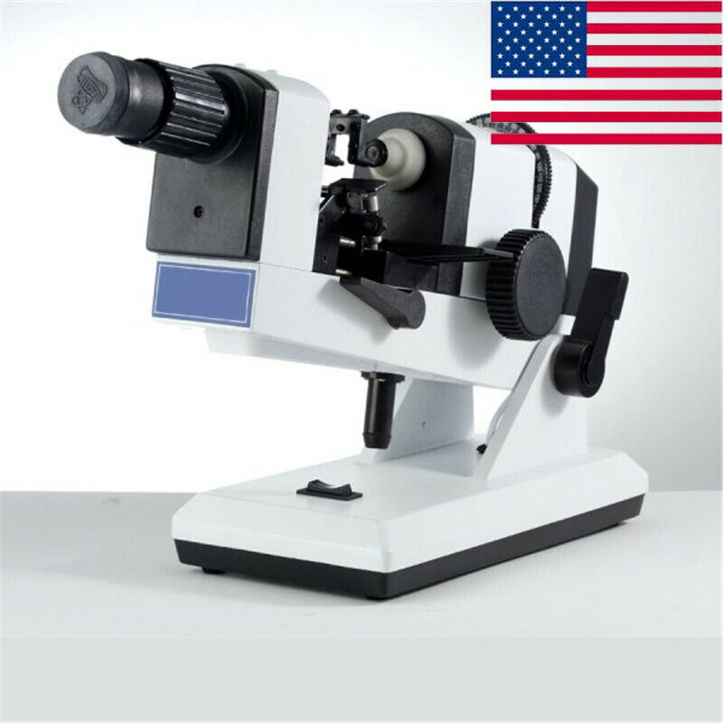 US Ship Fast Manual Lensmeter Focimeter Optometry Machine Measuring Instrument
