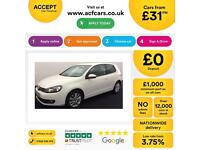 Volkswagen Golf Match FROM £31 PER WEEK !