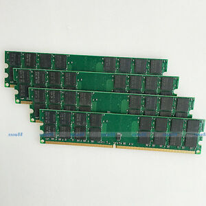 16GB 4x4GB PC2-6400 DDR2 800 800MHZ 240Pin DIMM Ram For AMD Desktop Memory 16G