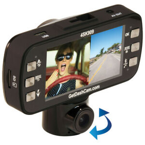 DashCam 4SK909 Twister 1080p Dual Lens 2.7in scrn- NEW IN BOX
