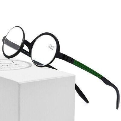 Men Prescription Eyeglasses Small Round Plastic Titanium Frame Reading Glasses - Small Plastic Glasses