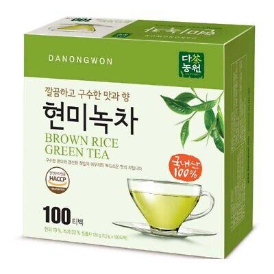 Korean Danongwon Brown Rice Green Tea 100 Tea bags