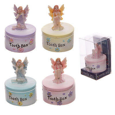 Tooth Fairy Trinket Pot Box Ornament Baby Christening First Tooth New Gift