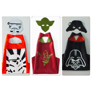 Brand New Star Wars Superhero Cape and Mask Costume Sets