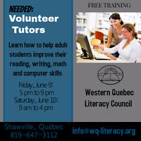 Free Tutor Training Workshop