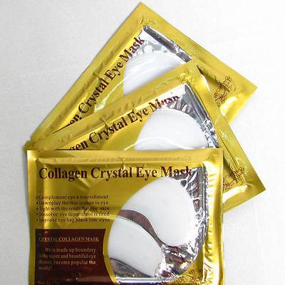 1-1000 Pairs White Moisturizing Skin Care Gel Collagen EYE Hydrating Face Masks