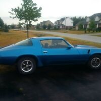1980 Camero One Owner