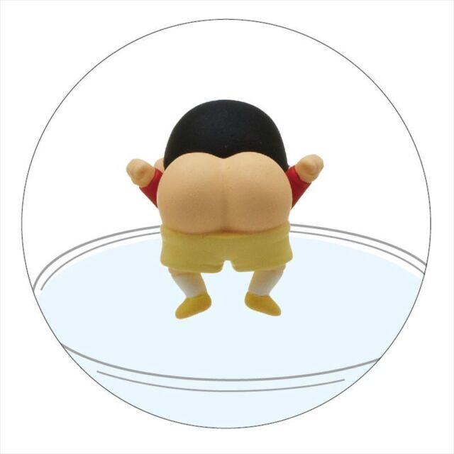 Kitan Club PUTITTO Series Crayon Shin-chan Cup edge Shinnosuke ass Alien Figure