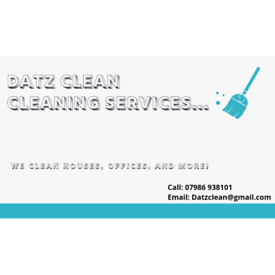 Datz Clean Cleaning Services - Essex and London Based