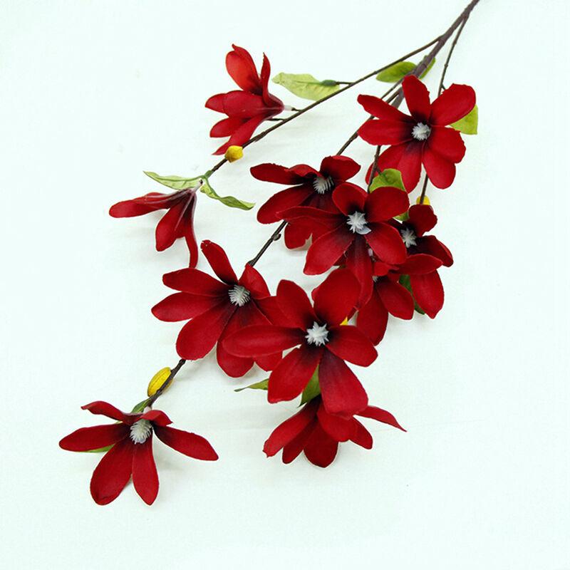 High-grade Magnolia Simulation Artificial Plant Flower Bouquet Home ...