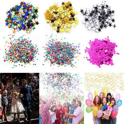 Stars Heart Sparkle Table Confetti Sprinkles Birthday Party Wedding Decoration - Heart Confetti