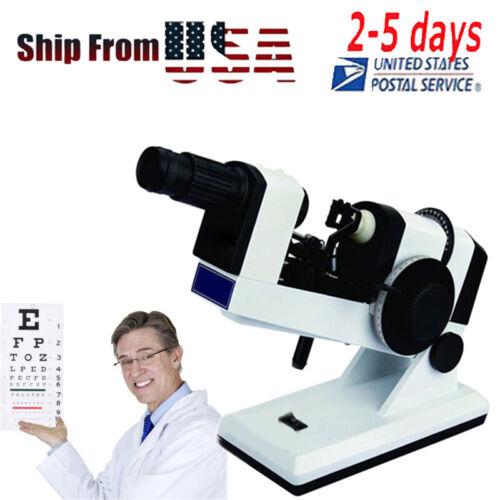 Manual Lensmeter Optical Lensometer Focimeter Optometry Machine Reading Device