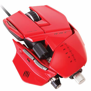 Gaming Mouse Madcatz Rat 7 (Red)
