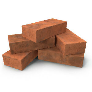 used Red solid brick