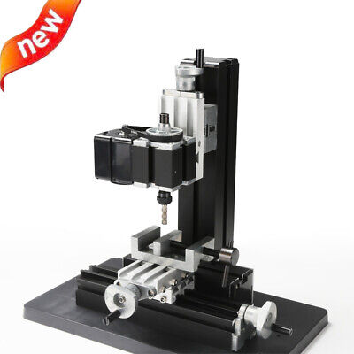 100240v Metal Mini Milling Machine Diy Woodworking Tools Student Modelmaking