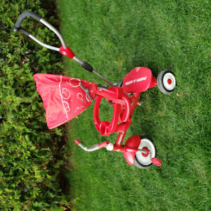 Tricycle Radio Flyer 4 en 1
