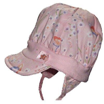 Döll Kindermütze Mütze Sommermütze Bindemütze Mädchenmütze Schmetterlinge UV 20