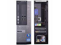 DELL OPTIPLEX 390 CORE I3 DESKTOP PC 3.1GHZ 8GB 3000GB HDMI WIN 7 PRO WIFI