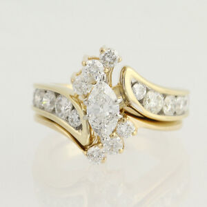 GORGEOUS 1 Carat Diamond Ring 14k Yellow Gold Appraised
