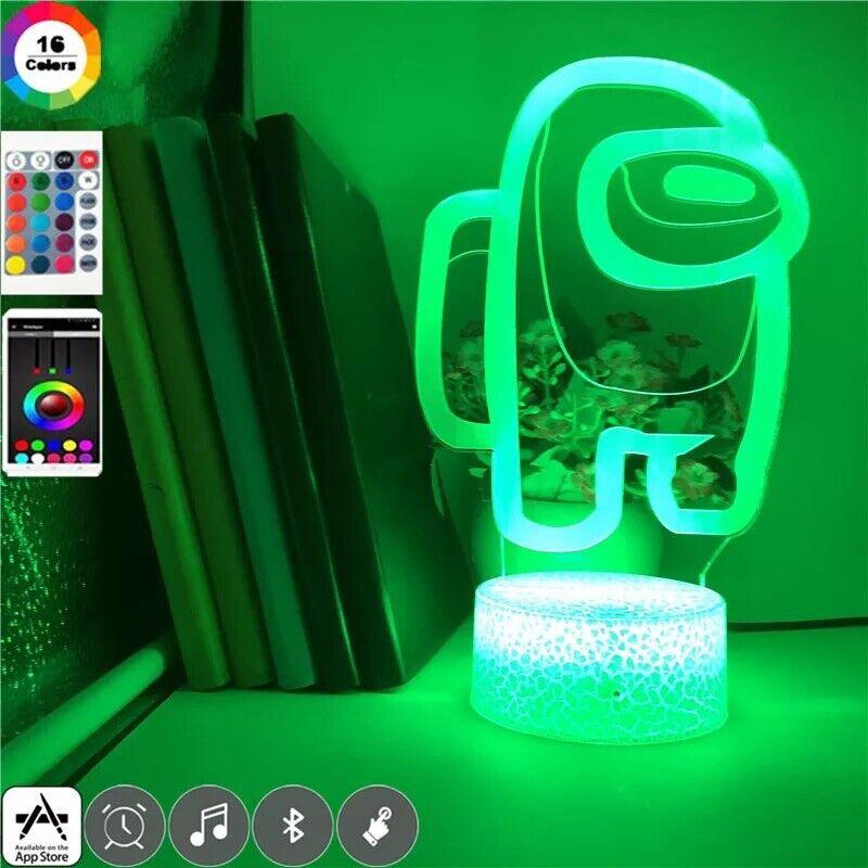 Among Us Desk Light Up Display