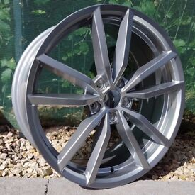 "19"" Pretoria Alloy Wheels for VW Golf mk5, mk6, mk7, Jetta, Caddy Etc"
