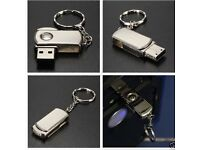 512GB Stainless Silver Swivel USB 2.0 Flash Drive Memory Stick Storage Pen