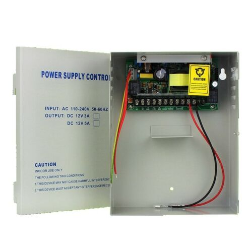 DC12V 5A Delay Power Supply Backup Battery Interface for door Access Control