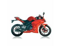 LEXMOTO HAWK 125 EFI - SPORTS MOTORCYCLE - LEANER LEGAL