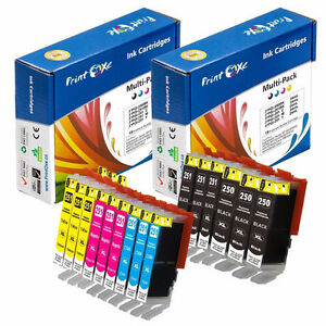 15-PACK CANON PGI-250 & CLI-251 COMPATIBLE INK CARTRIDGES
