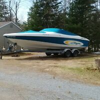 Excellent 2001 Baja 252 Islander Bowrider and trailer