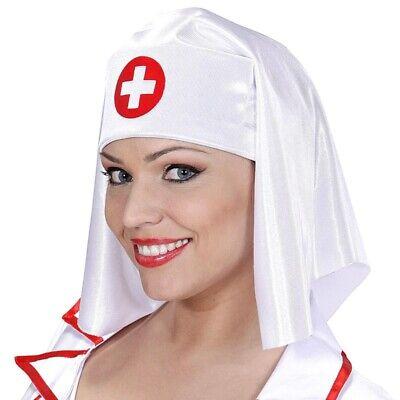 HAUBE KRANKENSCHWESTER Kostüm Ärztin Arzt Schwester Hut Kopfbedeckung  - Krankenschwestern Hut Kostüm