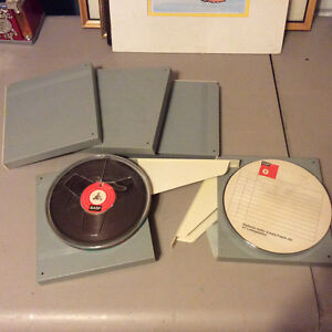 Lot of 5 Reel to Reel 7 inch x 1/4 inch with cases