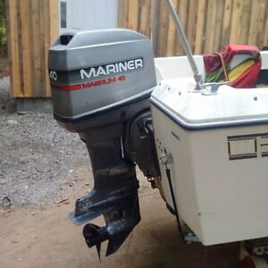 40  hp mariner good lower unit