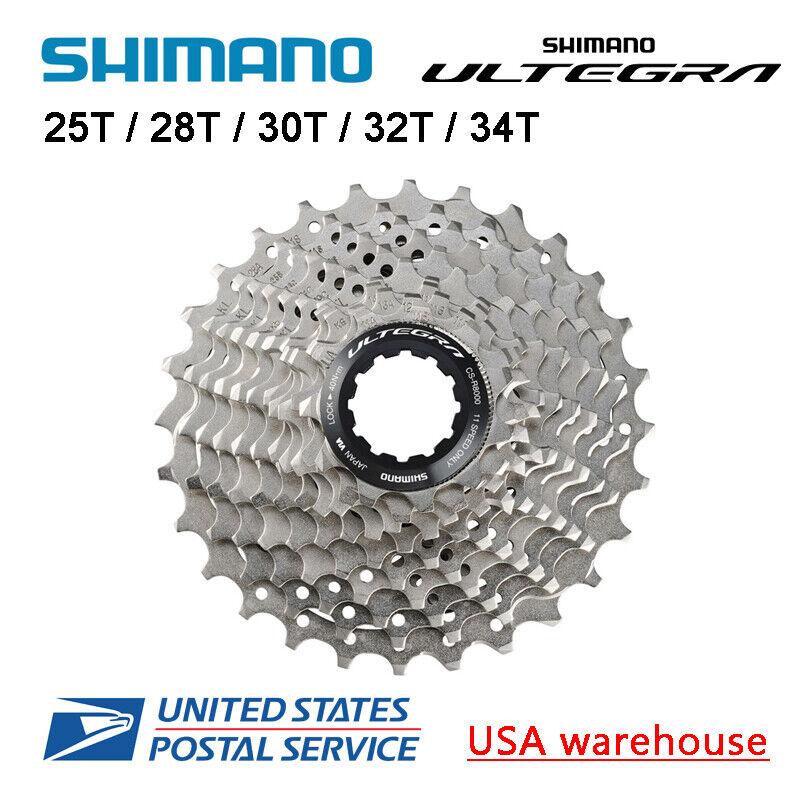 Shimano Ultegra CS-R8000 11-Speed Cassette 25T 11-28T 11-30T 11-32T 11-34T (OE)