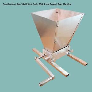 Details about Hand Held Malt Grain Mill Home Brewed Beer Machineitem#020109