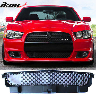 11 14 Dodge Charger Srt8 Front Lower Grille With Adaptive Cruise Control Black