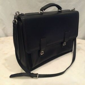 handmade leather briefcase made in usa sacoche bridle harness belting saddle leather briefcase 2506