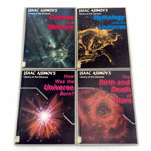 Lot 4 Isaac Asimov's Library Of The Universe Books Vintage Space