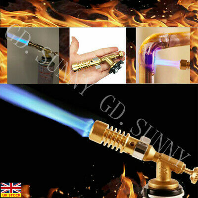 High Temperature Welding Brazing Nozzle Blow Torch Butane Gas Plumbing Torchs