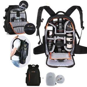 K&F Concept Large Camera Backpack Bag Rucksack DSLR Case for Canon Nikon Sony