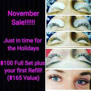Eyelash Extensions!!!  Be Mascara Free! Kitchener / Waterloo Kitchener Area image 1