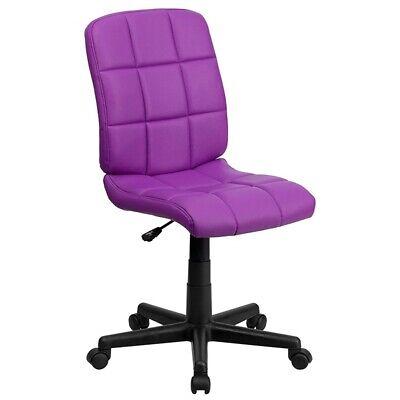 Makeup Chair Vanity Accent Bathroom Bedroom Stool Desk Seat With Wheels Rolling ()