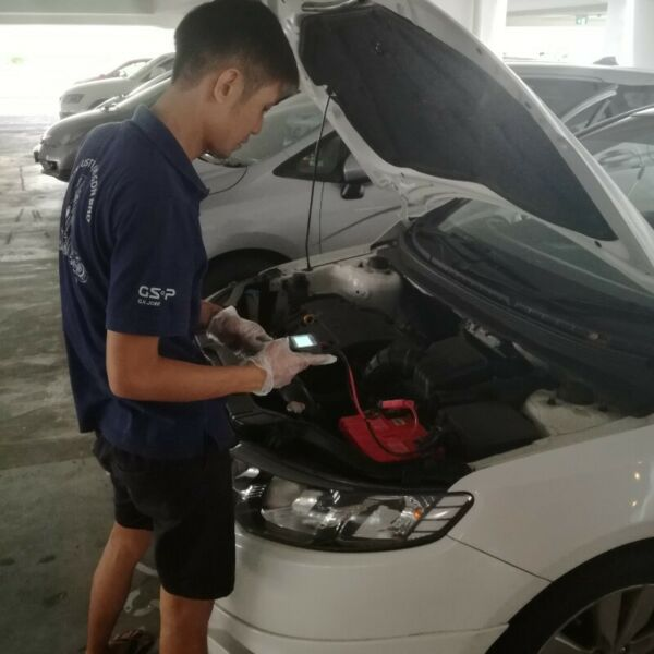 Car Battery Jump Start Service for Car, Van and Lorry