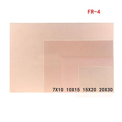 Single Sided Copper Clad Pcb Fr4 Laminate Circuit Board 7x1010x1515x2020x30cm