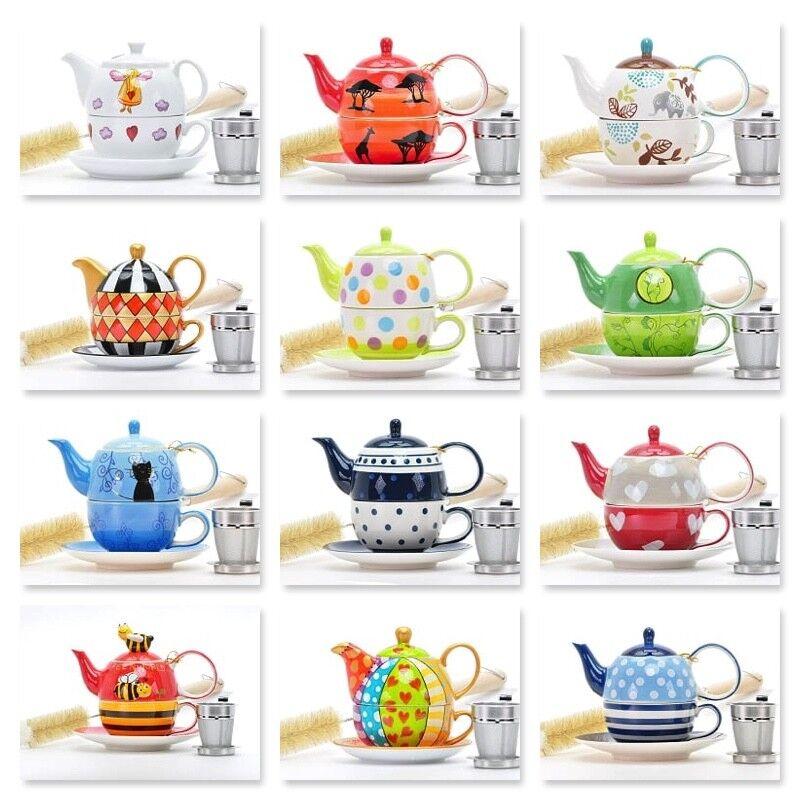 Teekanne teefilter Teetasse Tea for one Set