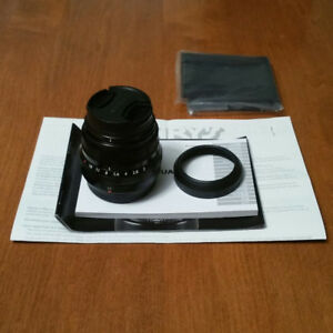 Lens Fujinon XF 35mm F2 R WR with bonus protective filter