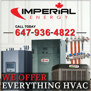 HIGH EFFICIENCY FURNACES, HEAT PUMPS, BOILERS, AC, DUCTWORK